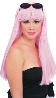 Glamour Wig in Cotton Candy Pink by Rubies