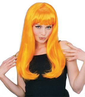 Glamour Wig in Orange by Rubies