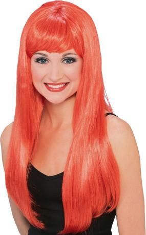 Glamour Wig in Red by Rubies