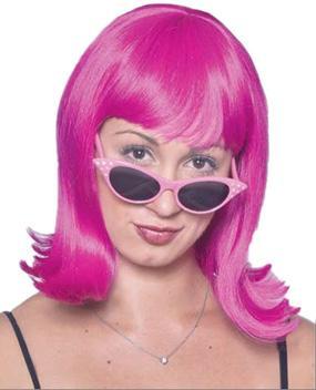 Diamond Cat Sunglasses in Pink