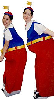 Tweedledee & Tweedledum #2 Costumes