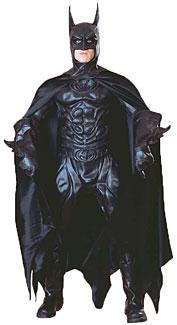 Black Latex Batman Costume