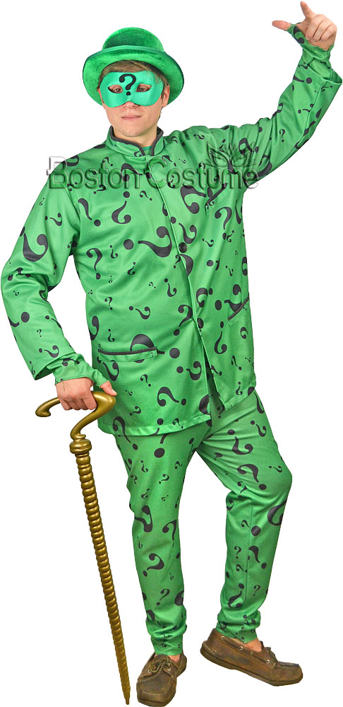 Riddler Costumes For Sale The Riddler Costume