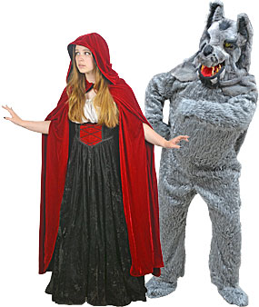 Little Red Riding Hood and The Big Bad Wolf Rental Costumes  sc 1 st  Boston Costume & Little Red Riding Hood u0026 The Big Bad Wolf Costumes at Boston Costume
