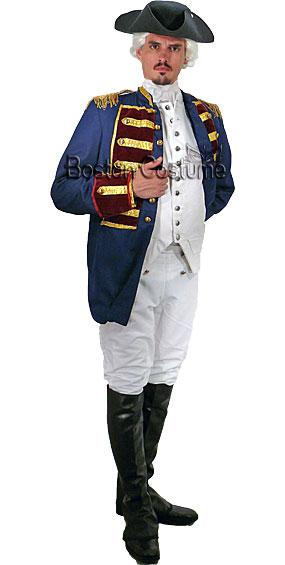 Colonial Man #13 Costume