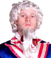 Deluxe Uncle Sam Wig