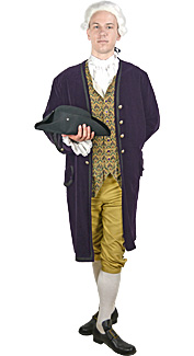 18th Century/Colonial Man Rental Costume