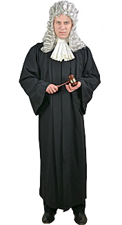 Judge Rental Costume
