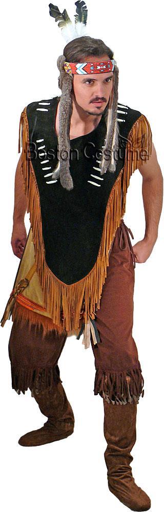 Native American Man Costume at Boston Costume