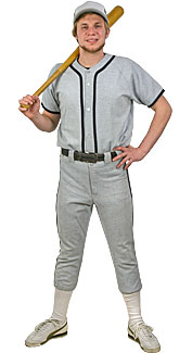 Baseball Player Costume