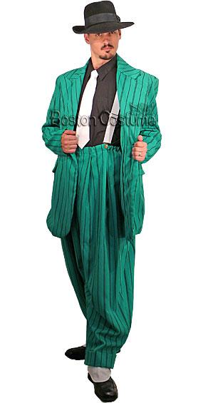Green Zoot Suit Costume