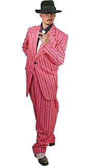 Pink Zoot Suit Costume