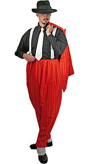 Red Zoot Suit Costume