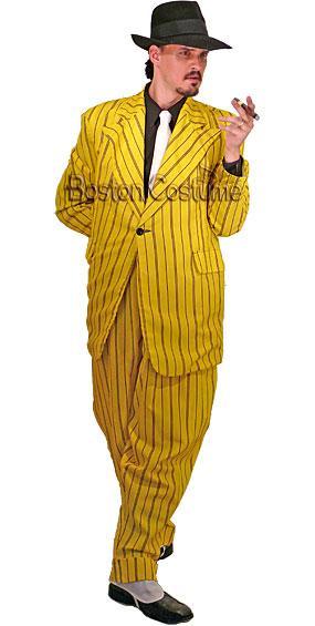 Yellow Zoot Suit Costume