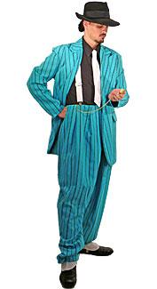 Turquoise Zoot Suit Costume