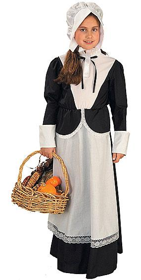 Pilgrim Girl Costume by Forum
