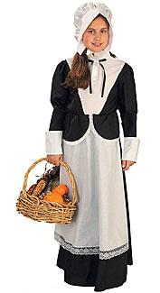 Pilgrim Girl Costume by Forum