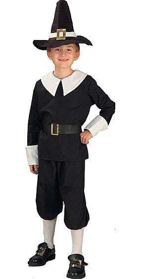 Pilgrim Boy Costume at Boston Costume
