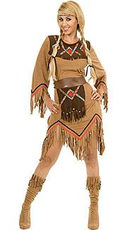 Sacajawea Costume by Charades at Boston Costume