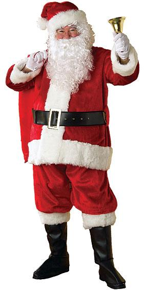 Plush Santa Suit by Rubies