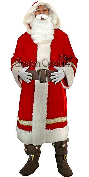 Old World Santa Claus Costume At Boston Costume