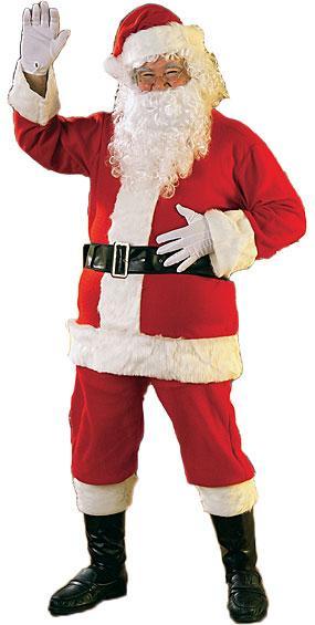 Flannel Santa Suit by Rubies