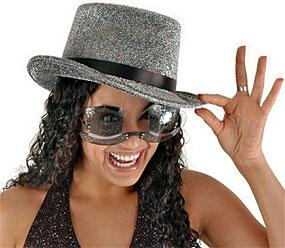New Year Top Hats Sunglasses by Elope