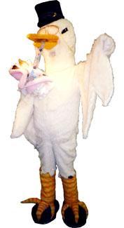 Stork Costume