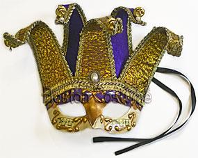 Marquee Jester Masquerade Mask