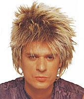 Short Rocker Unisex Wig in Mixed Blonde by Franco