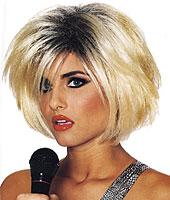 80's Diva Wig in Blonde/Black by Franco