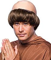 Monk Wig in Brown by Rubies