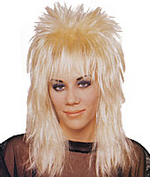 Rocker Long Unisex Wig in Blonde by Franco