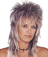 Long Rocker Unisex Wig in Mixed Blonde by Franco