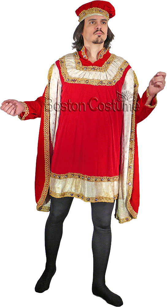 Medieval Late Gothic Man Costume At Boston Costume