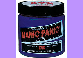 Manic Panic After Midnight Blue Hair Dye