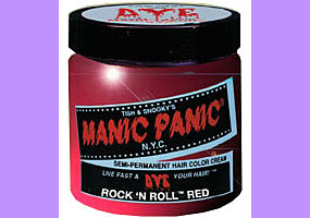 Manic Panic Rock 'n' Roll Red