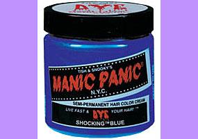 Manic Panic Shocking Blue