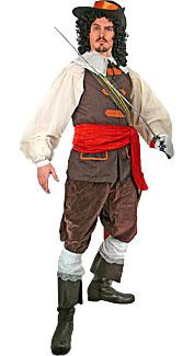 Cavalier Man Costume