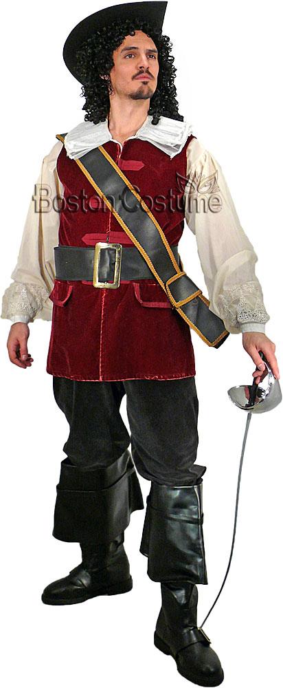 Cavalier Man Costume At Boston Costume
