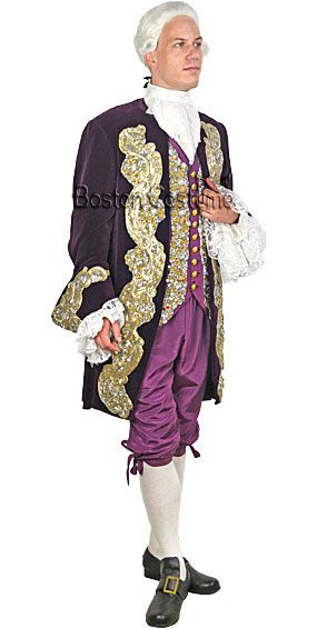 Deluxe 18th Century/Colonial Man Costume