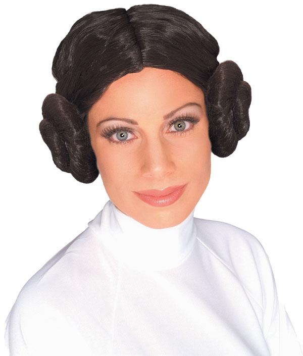 Princess Leia Wig In Brown At Boston Costume