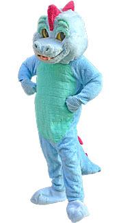 Blue Magic Dragon Costume