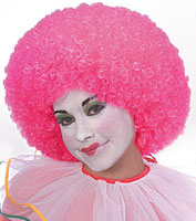 Rubies Neon Afro Wig