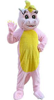 Pink Magic Dragon Costume