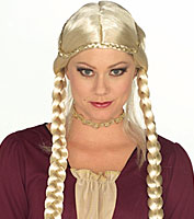 Forum Braided Renaissance Wig