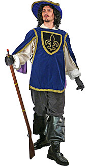 Musketeer #2 Costume