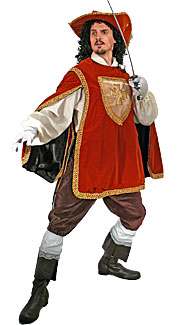 Musketeer #3 Costume