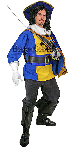 Musketeer #4 Costume