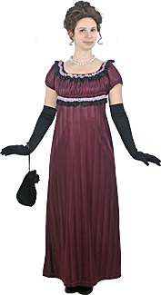 Empire Woman Rental Costume